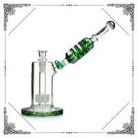 bongs matriz Freezable bobina tubo bong compilação tubo de água de vidro a cachimbos de água borbulhador precipitada fumadores (PHX 012)