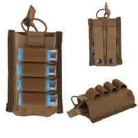 Chasse Tactique 4 Ronds Munitions Porte-coquilles Carrier Shooters Sleeve Mag Pouch 9282