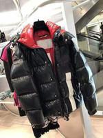 2019 Los últimos hombres de la chaqueta informal abajo abrigos para hombre cuello de piel al aire libre vestido de plumas cálido abrigo de invierno outwear chaqueta
