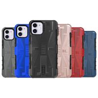 Armure antichocs souple TPU Téléphone cas couverture arrière lourd pour iphone 11 Samsung Galaxy note10, plus M10 A30 A50 Huawei Y6 Y5