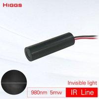 780nm di alta qualità 5mW infrarosso modulo laser linea IR invisibile laser localizzatore luce marcatura interattivo touch personalizzabile