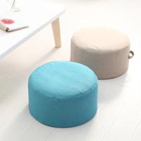 La nouvelle conception ronde haute résistance éponge coussin d'assise Tatami Coussin de méditation Yoga Mat ronde Chaise Coussins Hap-cerf SH190925 000