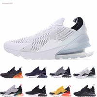 Nike air max 270 27c 2020 Hot punch Parra photo Bleu Hommes Femmes Chaussures de course Triple Université Blanc Rouge Olive Volt Habanero Flair Sneakers 36-45