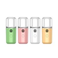 Portable Nano Face Steamer Usb Humidificateur d'air rechargeable Refroidissement Mini Steamer Facial pour Maison Bureau Fogger Maker Maker Désinfection de la main