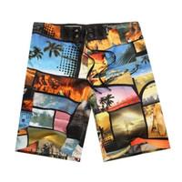 Mens Shorts Surf Board Shorts Verão Desportivo Praia Homme Bermuda Calças Curtas Imprimir Quick Dry Boardshorts prata Designer