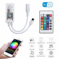 بلوتوث / واي فاي LED المراقب + IR عن بعد لل5050/3528 RGB / RGBW LED قطاع الخفيفة