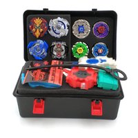 14pcs Toupie Beyblade Burst Set Masters Launcher Trottola Beyblade Metal Fusion Beyblade Giocattoli Per Bambini Bambini Bayblade J190427