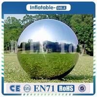 이벤트 / 크리스마스 / 할로윈 장식을위한 advetising 파티 장식 풍선 거울 구 1.5m 직경 실내 풍선 거울 공