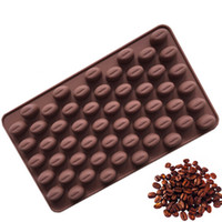 High Quality Silicone 55 Cavity Mini Coffee Beans Chocolate ...