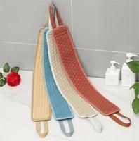 Body Wash Breaking Schwämme für Körperbürste für Rücken Peeling Washcloth Zubehör für Bäder Gürtel Duschbürsten Wäscher Schwamm