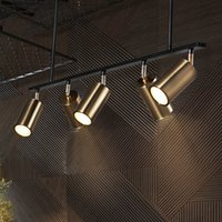 Золотые ламвянки подвесные светильники светодиодные висит подвесной светильник GU10 Nordic современный дизайн для столовой металлический подвесной светильник