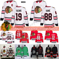 Чикаго Блэкхокс Джерси 19 Toews 88 Kane 2 Дункан Кейт 12 Алекс Дебинкат 50 Corey Crawford 00 Clark Griswold Hockey Jerseys