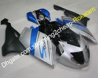K1200S Sportbike Full Action для BMW K1200S K 1200S 2005 2006 2007 2008 K1200 S 05 06 07 08 Blue Silver Black Flation
