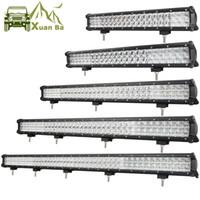 Xuanba 5D-Objektiv 12 '' 28 '' 36-Zoll-LED-Arbeitslicht-Bar für Auto Boot Offroad 4WD 4x4 Truck SUV ATV-Spot-Flut-Kombinationsstrahl 12V 24V barra LED-Lampe