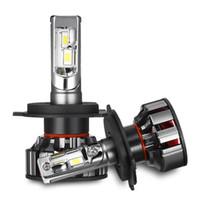 2PCS V8 H4 자동차 LED 헤드 라이트 H7 주도 전구 H1 H8 H9 H11 9005 9006 100W 10000lm 6000K 전면 램프