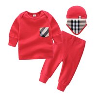 4pcs Baby Clothing Sets Autumn Baby Boys Clothes Infant Baby...