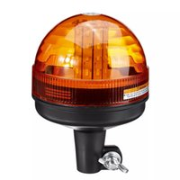 40 LED 12V-24V 비상 경고 플래시 스트로브 회전 트랙터 빛 비콘 복구 신호등 경고 황색