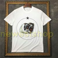 2020 nuovi uomini di estate di marca del progettista maglietta dei vestiti manica corta maglietta Roar orangutan scimmia cerchio stella della maglietta unsex tee parti superiori del cotone