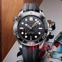 300M Lüks moda James Bond 007 Paslanmaz Çelik Erkek Tasarımcı elmas usta Tag Izle Kol Saatleri Saatler