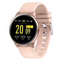 KW19 Smart Watch Frauen IP67 Wasserdichte Herzfrequenz Monitor Blut Sauerstoff Drucknachrichten Reminder Fitness Tracker Männer Sport Smartwatch