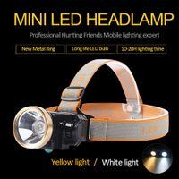 3W 미니 광부 램프 LED 헤드 램프 리튬 배터리 무선 광부 작업 야외 활동을위한 캡 램프 충전식 헤드 라이트