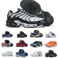 Sales Original AIR TN Running Shoes Cheap Breathable MESH Bl...