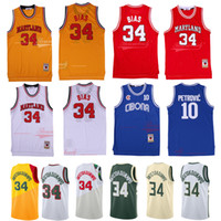 NCAA Cibona Jugoslavija Petrovic Giannis 34 Antetokounmpo Jersey Marquette Dwyane Wade Maryland 34 Önyargılı Rodman Formalar