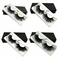 25mm faux cils en gros bande épaisse bande 3D mink cils d'emballage personnalisé maquillage maquillage dramatique fait main à la main naturel épais longs cils