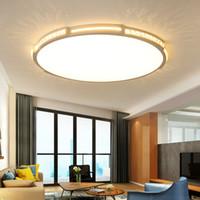 Nueva araña de cristal ultradelgada de LED minimalismo iluminación de araña moderna montada en superficie lustres para sala de jantar