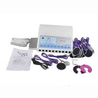 TM-502 elektro stimülasyon zayıflama makinesi elektrotlar Rus dalgalar EMS Zayıflama makinesi elektriksel kas uyarımı makineleri