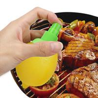 Creativa limón pulverizador Juicer de la fruta cítrica spray Exprimidores Escariadores Herramientas para el Hogar Gadgets de cocina Exprimidor de fruta Cocinar