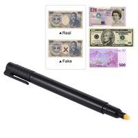 Gefälschter Geldzähler-Detektor-Stift gefälschter Banknoten-Tester-Währungsgeld-Cash-Checker-Marker für US-Dollar-Bill Euro-Pfund Yen gewonnen