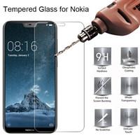 Vidro temperado para Nokia 7 Plus 8 9 Telefone Film toughed Limpar Protective protetor de tela para Nokia 5 6 2017 4 3 2 1