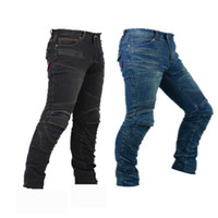 Nuevo 718 Jeans de carreras transpirables Caballero Jeans Protección de viaje al aire libre Motocicleta Pantalones todoterreno Ciclismo Ropa de ciclismo Tienen los cuneados Anti-Caída