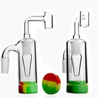 실리콘 애쉬 포수 14mm 유리 애쉬 포수 물 담뱃대 봉 흡연 액세서리 DAB 파이프 Enail DAB 장비 키트