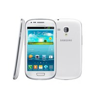 Оригинал Samsung I8190 Galaxy SIII Мобильный телефон S3 mini 3G WCDMA Wi-Fi GPS 5MP Камера 1500 мАч Andorid Двухъядерный Восстановленное мобильный телефон