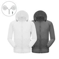 사이클링 셔츠 탑스 방수 야외 에어컨 셔츠 재킷 부드럽고 편안한 자외선 차단제 냉각 팬 승마 스포츠 좋은 qu