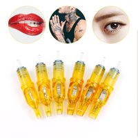 Plasma Pen Tattoo Needle M1 RM RS RL Eyebrow Needle Tattoo Gun Supplies Disposable Semi-Permanent Makeup Tattoo Cartridge Needle