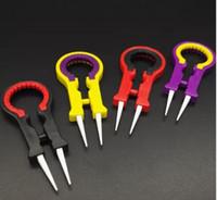 Mais novo Vaper Twizer V8 Pinça ecig Acessórios DIY Ferramenta Pinças De Cerâmica Vapor Tweezers Vape Twizer para RDA RBA RTA