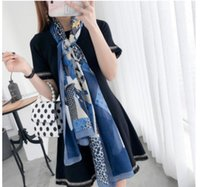 women Scarf design women Classic 100% silk Scarf 2018 Warm S...