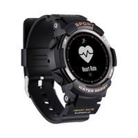 F6 Smart Watch IP68 wasserdichte Bluetooth 4.0 Dynamische Puls-Monitor-Smart-Armbanduhr für Android IOS iPhone Smart-Phone Watch