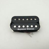Elektro Gitar Pickups Orijinal Amerika'da Yapılan SH-PG1N İnci Kapıları Humbucker Pickup - Siyah Boyun
