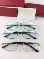 إطار نظارات أعلى جودة مصمم بصري اطارات رجالية أزياء المرأة خمر نظارات النظارات بلانك نظارات الكامل نظارات عدسة شفافة