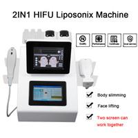 고강도 초음파 Liposonix 슬리밍 기계 가장 효과적인 뚱뚱한 손실 스파 휴대용 HIFU 슬리밍 기계를 집중