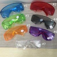 Mode Schutzbrille Anti-Fog-Wind-Staub-Beweis Schutzbrillen Brillen Brillen Außen Splash Proof Schlagschutzbrille