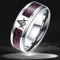 Высококачественные красочные масонские кольца ювелирные изделия европейские и американские золотые кольца титановые стальные кольца мужское масонское кольцо мужские кольцовые кольца