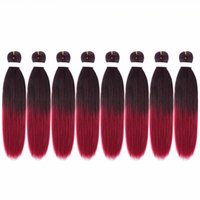 Braiding Hair Pre Stretched EZ Braid Low Temperature Synthet...