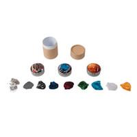 NAOMI 3 комплекта гитарных кирок, включая ожерелье с гитарным киркой, целлулоидные клюшки из нержавеющей стали