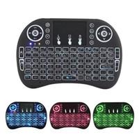 1PCS I8 Mini teclado sem fio 2.4G Fly Air Mouse para MXQ PRO TX3 mini-H96 X96 Mini Android TV Box