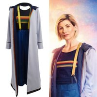 Doktor kim 13th Doctor Who Jodie Whittaker dış giyim Tam set Cosplay Kostüm